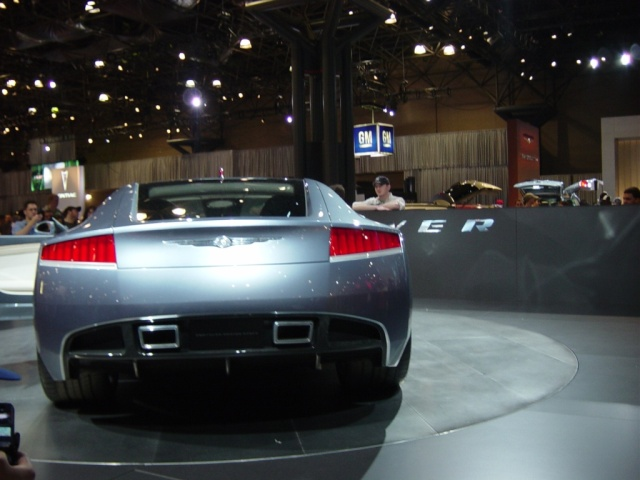 chrysler firepower concpt car rear view