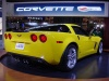 corvette z 0 6 rear view yellow