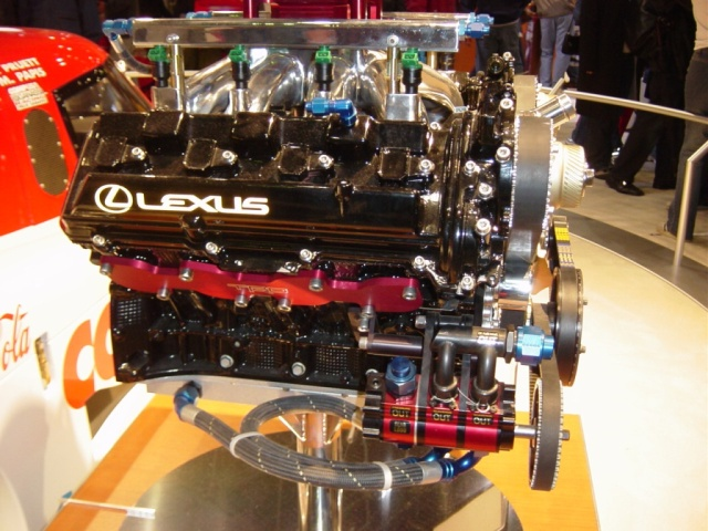 daytona prototype engine lexus