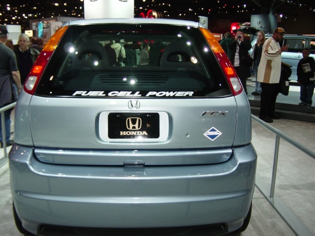honda fuel cell car fcx
