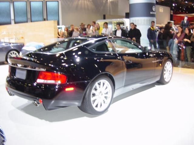 new york 2005 car show black car