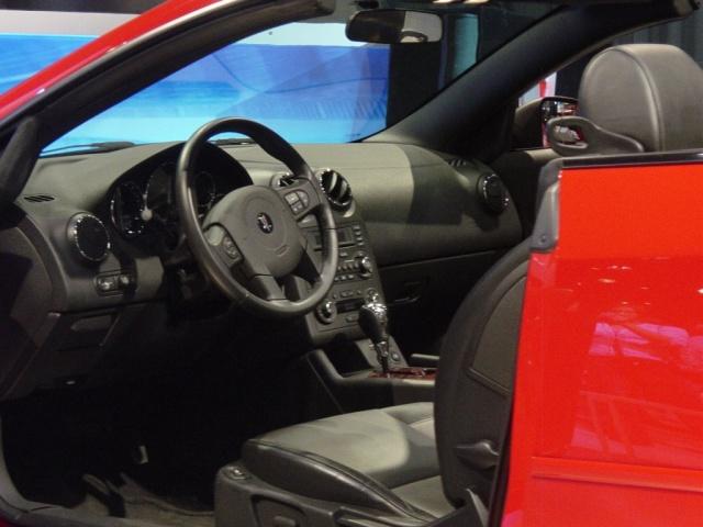 pontiac g 6 interior view