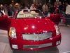 red cadillac convertible