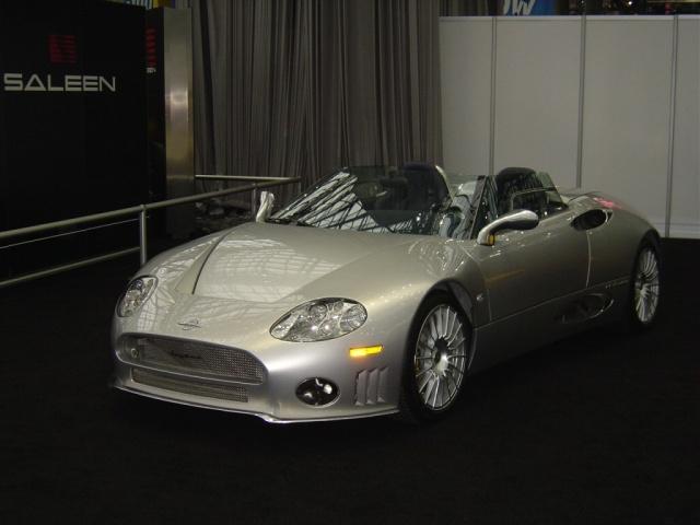 silver saleen convertible