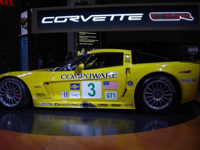 yellow chevy corvette z 0 6