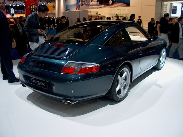 porsche 996 targa 02 paris car show 2002 car pictures by carjunky. Black Bedroom Furniture Sets. Home Design Ideas