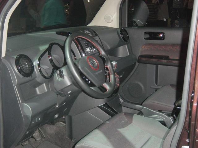 honda element interior view