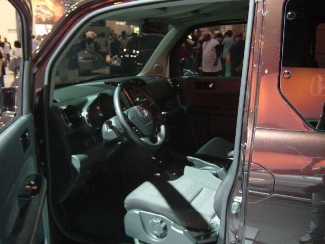 honda element prototype interior