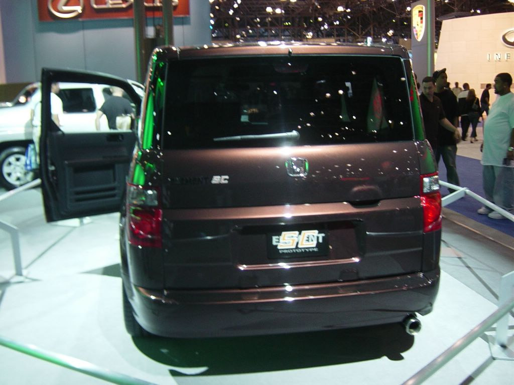 honda prototype element rear view