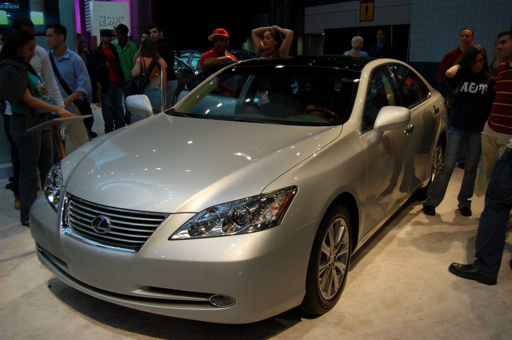 lexus at new york auto show