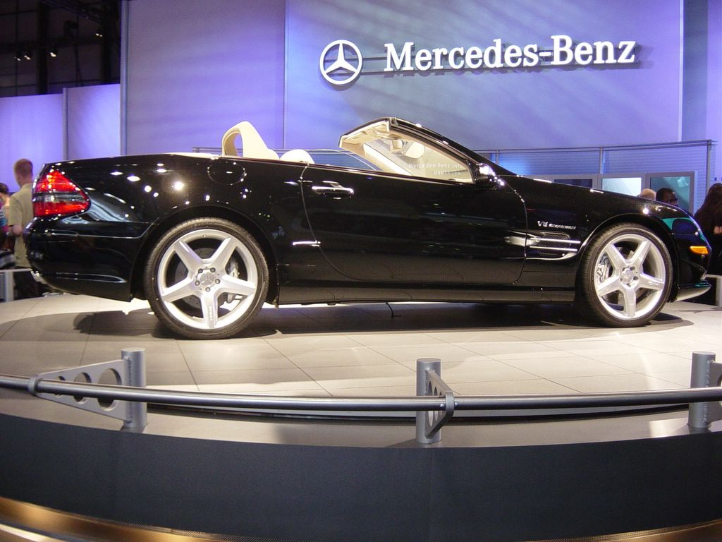 mercedes side view