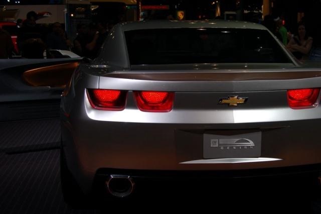 chevy camaro rear view