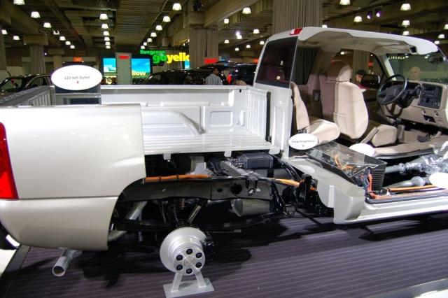 chevy hybrid truck