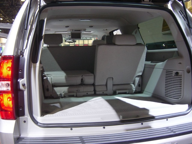 tahoe interior rear view