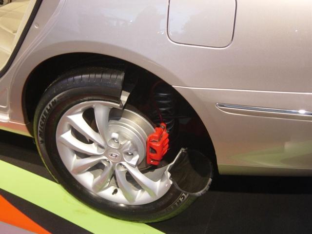 hyundai brake system