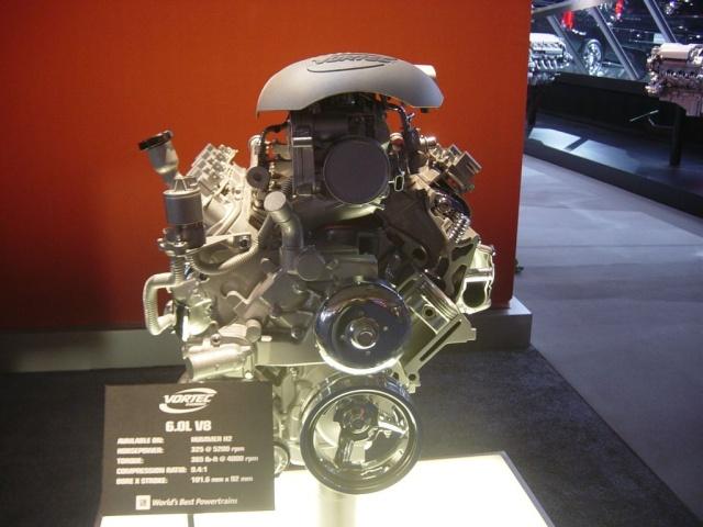 vortec 6 0l v8 engine front