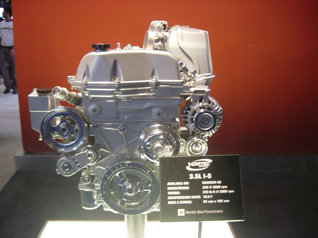 vortes hummer engine