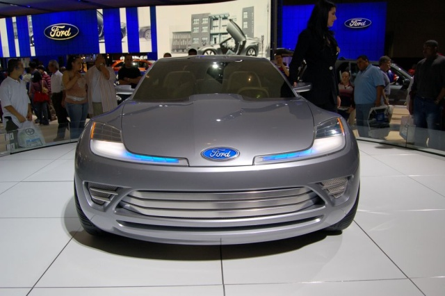 ford reflex concept car front view