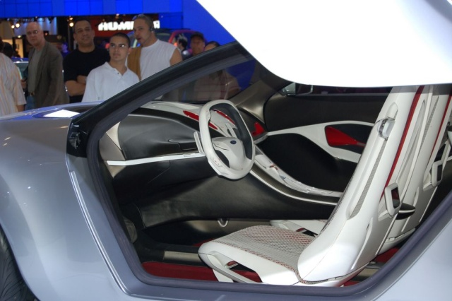 ford reflex interior