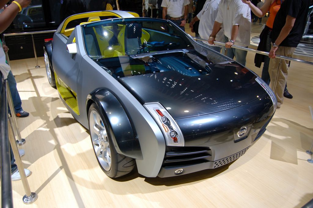 nissan urge concept car front view