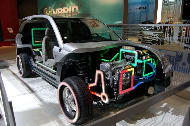 saturn electric engine