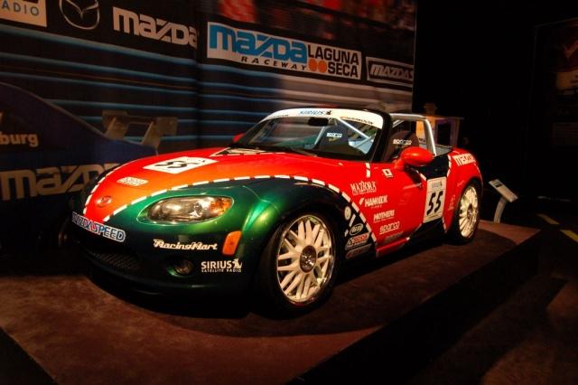 2007 mx mazda race car
