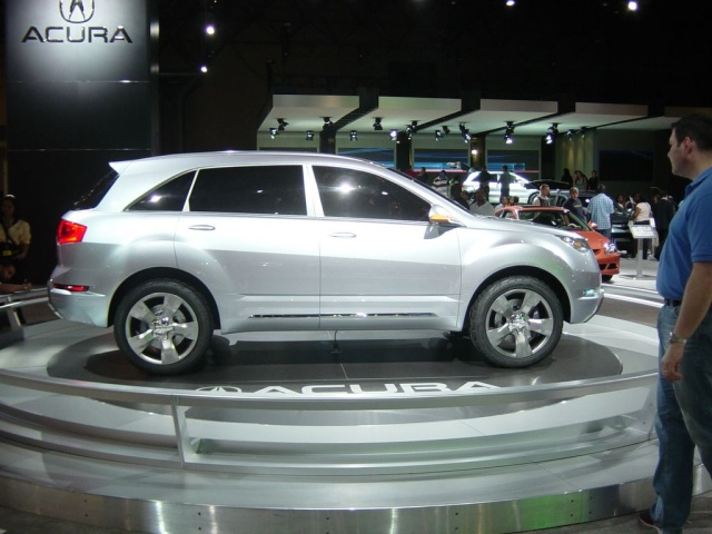 acura mx concept car side view