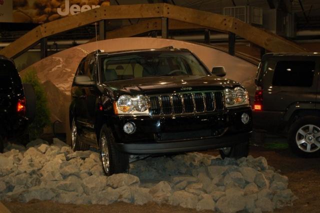 jeep mountain display
