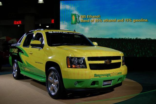 live green go yellow flex fuel