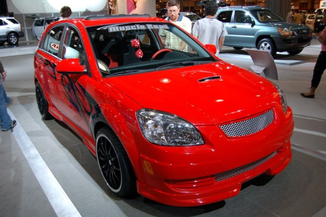 red kia front view