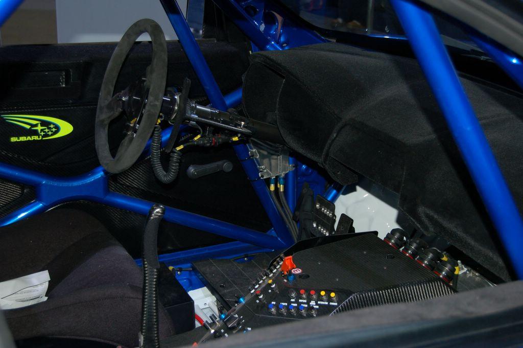 subaru world rally car engine
