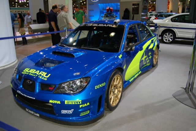 subaru world rally team team race car